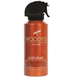 Woody's Just 4 Play Body Spray - Спрей-дезодорант Спорт, 150 мл