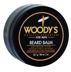 Woody's Beard Balm - Бальзам-кондиционер для бороды на основе кокосового масла, 56.7 гр