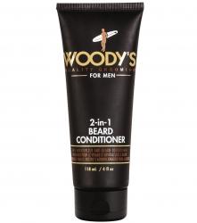 Woody's 2-in-1 Beard Conditioner - Кондиционер для бороды 2 в 1 питание и увлажнение, 118 мл