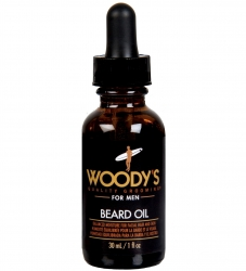 Woody's Beard Oil - Масло для бороды на основе орехового масла, 30 мл