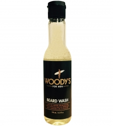 Woody's Beard Wash - Шампунь для бороды, 193 мл