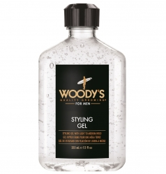 Woody's Styling Gel - Гель для укладки волос средней фиксации, 355 мл