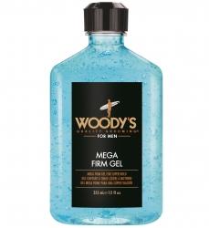 Woody's Mega Firm Gel - Гель для волос сверх сильной фиксации, 355 мл