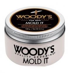Woody's Mold It - Паста матовая для укладки волос средней фиксации, 100 гр