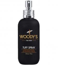 Woody's Tuff Spray - Текстурирующий спрей-гель для волос средней фиксации матовый, 118 мл