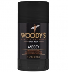 Woody's Messy - Кристалл-воск матовый для укладки волос средней фиксации, 75 гр