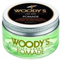 Woody's Pomade - Помада со средней фиксацией и высоким уровнем блеска для укладки волос, 96 гр