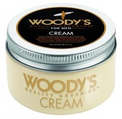 Woody's Cream - Крем со средней фиксацией и высоким уровнем блеска для укладки волос, 96 гр