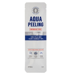 A'Pieu Aqua Peeling Cotton Swab (Intensive) - Очищающие палочки для лица с АНА-кислотами интенсивного действия, 3мл