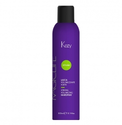 Kezy Magic Life Strong Volumizing Hairspray - Лак сильной фиксации для объема, 300мл