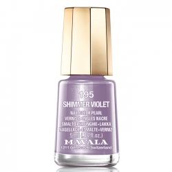 Mavala - Лак для ногтей тон 195 Мерцающая фиалка/Shimmer violet , 5 мл