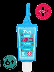 7 Days Blueberry - Детский гель для рук c антисептическим эффектом 6+, 30 мл