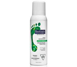 Footlogix Foot Deodorant Дезодорант для ног с антибактериальным эффектом, 125 мл