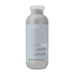 Kapous studio luxe care Silk with silk proteins - Шелк-Шампунь с протеинами шелка, 350мл