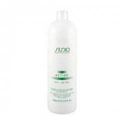 Kapous Professional ActiOx - Кремообразная окислительная эмульсия с экстрактом женьшеня и рисовыми протеинами 12%, 1000 мл