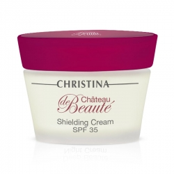 Christina Chateau De Beaute Shielding Сream SPF 35 - Защитный крем SPF 35, 50 мл