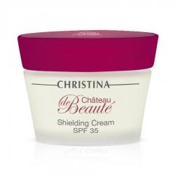 Christina Chateau De Beaute Shielding Сream SPF 35 - Защитный крем SPF 35, 50 мл