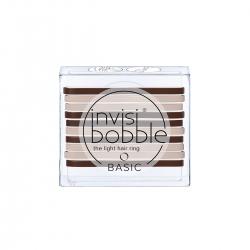 Invisibobble BASIC Mocca & Cream - Резинка для волос кофейно-молочный, 10шт