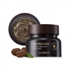 The Saem Natural Daily Original Coffee Mask - Кофейная маска-скраб для кожи с расширенными порами, 100гр