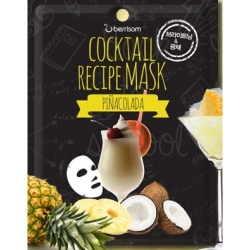 Berrisom Cocktail Recipe Mask Pina Colada - Маска для лица Пина колада 20 г