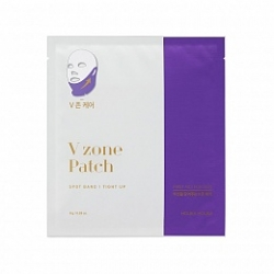 Holika Holika Spot Band V Zone Patch - Маска для лица для зоны подбородка, 8 г
