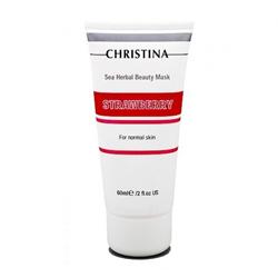 Christina Sea Herbal Beauty Mask Strawberry - Клубничная маска красоты для нормальной кожи 60 мл