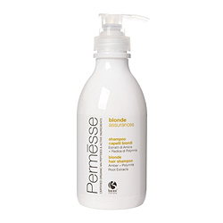 Barex Permesse Blonde Hair Shampoo with Amber and Polymnia Root extracts - Шампунь для осветленных волос с экстрактом янтаря и корня Полимнии 250 мл
