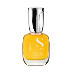 Alfaparf Milano Semi Di Lino Sublime Cristalli Liquidi - Масло против секущихся волос придающее блеск, 15 мл