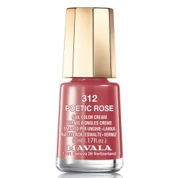 Mavala - Лак для ногтей тон 312 Лирика роз/Poetic Rose, 5 мл