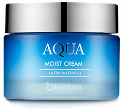 Berrisom Aqua Moist Cream - Крем для лица увлажняющий, 50 г