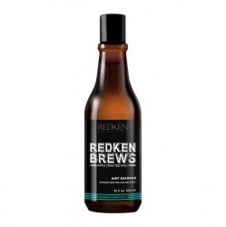 Redken Brews Mint Shampoo - Тонизирующий шампунь, 300 мл