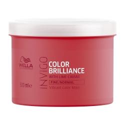 Wella Invigo Color Brilliance - Маска-уход для защиты цвета окрашенных нормальных и тонких волос 500 мл
