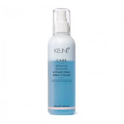 Keune Care Line Keratin Smooth 2 Phase Spray - Двухфазный Кондиционер-спрей Кер. комплекс 200 мл