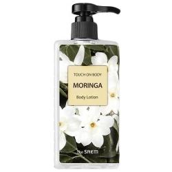 The Saem  Touch On Body Moringa Body Lotion  - Лосьон для тела с экстрактом моринга, 300мл