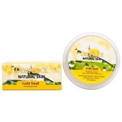 Deoproce Natural Skin Gold Snail Nourishing Cream - Крем с экстрактом золота и муцином улитки, 100 гр