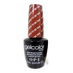 Opi GelColor A-piers to be Tan, - Гель-лак для ногтей, 15мл