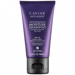 Alterna Caviar Anti-aging Replenishing Moisture Shampoo - Увлажняющий шампунь с морским шелком, 40 мл