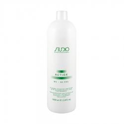 Kapous ActiOx - Кремообразный окислитель с экстрактом женьшеня и рисовыми протеинами 6%, 1000 мл