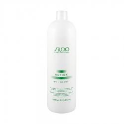 Kapous ActiOx - Кремообразный окислитель с экстрактом женьшеня и рисовыми протеинами 9%, 1000 мл