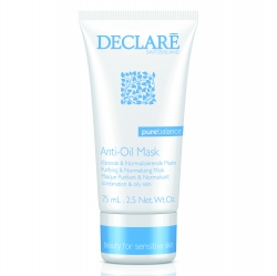 Declare Anti-Oil Mask - Маска для жирной и проблемной кожи, 75 мл