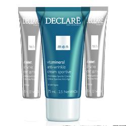 Declare Anti-Wrinkle Cream Sportive - Омолаживающий крем для активных мужчин, 75 мл