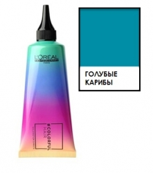 L'oreal professionnel Colorful Hair Caribbean Blue - Полуперманентное окрашивание, Голубые карибы, 90 мл