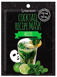Berrisom Cocktail Recipe Mask Mojito - Маска для лица мохито 20 г