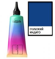 L'oreal professionnel Colorful Hair Navy Blue - Полуперманентное окрашивание, Глубокий индиго, 90 мл