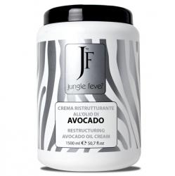 Jungle Fever Restructuring Avocado Oil Cream - Крем восстанавливающий с маслом авокадо, 1500 мл