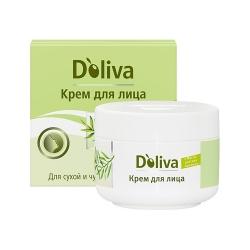 Doliva - Крем для лица для сухой и чувствительной кожи, 50 мл