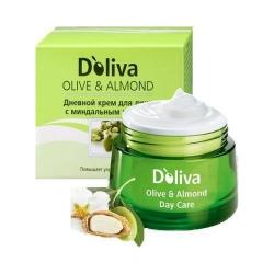 Doliva - Ночной крем для лица с миндальным маслом, 50 мл