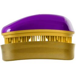 Dessata Hair Brush Mini Purple-Gold - Расческа для волос, Фиолетовый-Золото