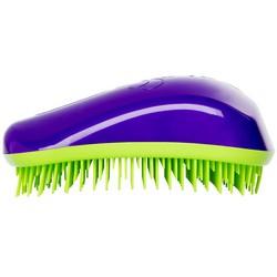 Dessata Hair Brush Original Purple-Lime - Расческа для волос, Фиолетовый-Лайм