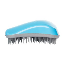 Dessata Hair Brush Original Turquoise-Silver - Расческа для волос, Бирюза-Серебро